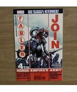 Signed Comic Book, Bill Willingham Vertigo Fables Part 1 Return To The H... - $29.65