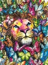 LION (10)  FULL  XSTITCH KIT - $35.00