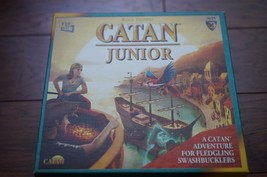 Klaus Teuber's CATAN JUNIOR BOARD GAME - missing 1 building cost tile - $22.49