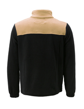 Men's Full Zip-Up Two Tone Solid Warm Polar Fleece Soft Collared Sweater Jacket image 9