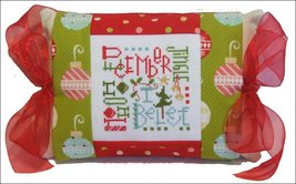 December Expressions (PMD-380) Tie One On Kit cross stitch kit Pine Mtn ... - $18.00
