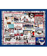 Washington Capitals 2018 Stanley Cup Mosaic Newspaper Collage Print Art - $19.99+
