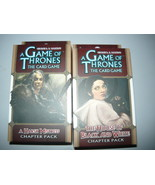 A Game of Thrones chapter pack lot 2 the house of black and white harsh ... - $10.98