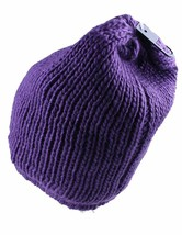 Bench Women's Petunia Purple Jayme Acrylic Knit Slouch Beanie Winter Hat NWT image 2