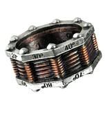 LAST CHANCE! Alchemy Gothic Hi-Voltage Toric Generator Steampunk Ring R149 - $29.95