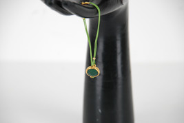Ovni Green String Bracelet With Green Quartz Stone BCF59 - $104.55