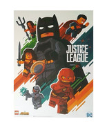 SDCC 2017 Lego Booth Exclusive Poster - Justice League Movie - $29.90
