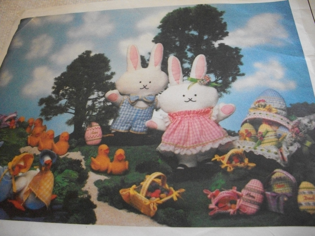 Primary image for Chick, Baskets & Bunnies Craft Pattern Vogue 1613
