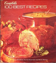 Campbell's 100 Best Recipes, Hardcover Cookbook August 1977, 157 Favorites - $2.99