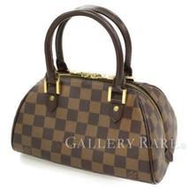 LOUIS VUITTON Rivera Mini Damier Canvas N41436 Handbag Spain Authentic 5... - $603.44