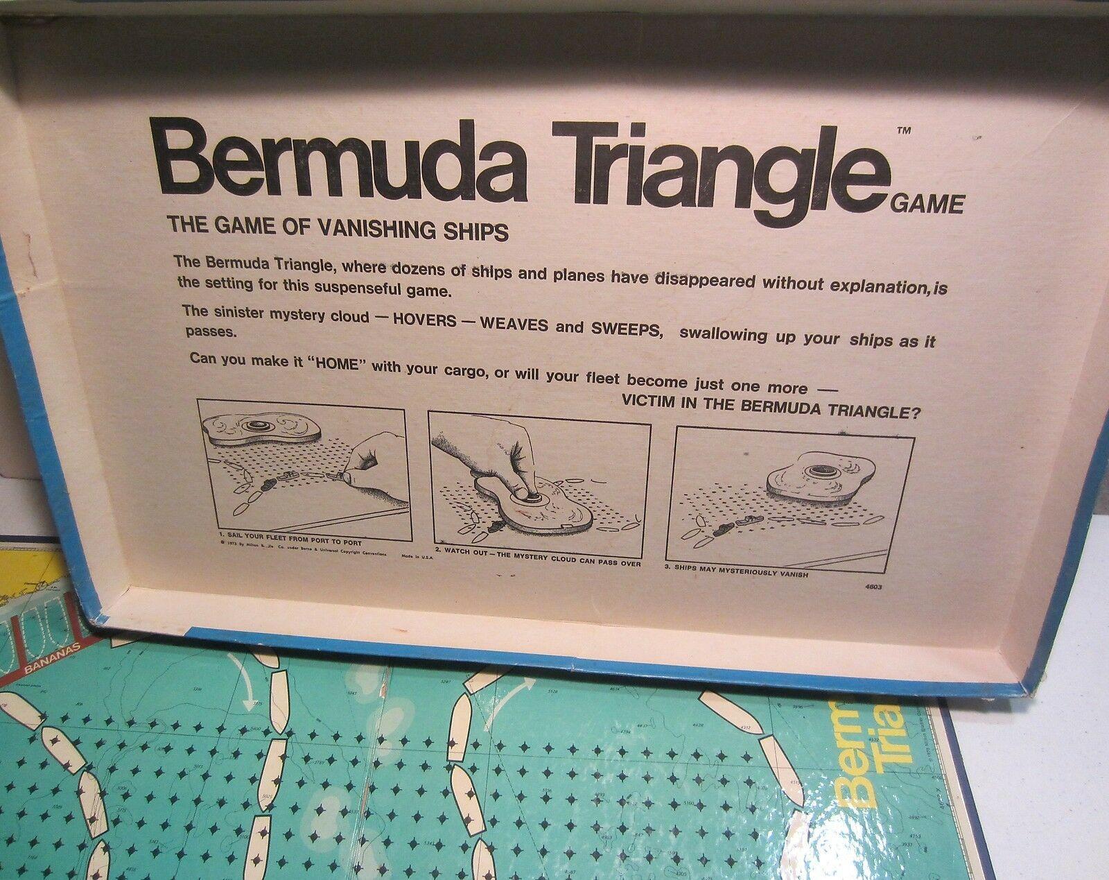 Vintage  Bermuda Triangle board game - complete image 3