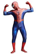 Adult Spiderman Cosplay Suit Halloween Spandex Costume Superhero Full Bo... - $49.99