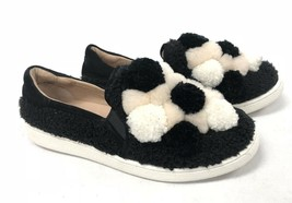Ugg Australia Ricci Pom Pom Shoe Slip On 1092576 Women's Black Shoes - $79.99