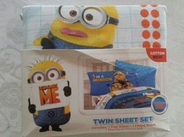 Despicable Me Minions Twin/Single Size Sheet Set - $38.00