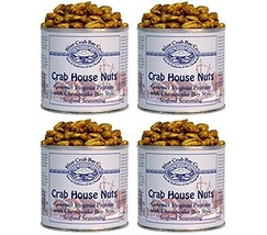 Blue Crab Bay Co. Crab House Nuts, 12-Ounce Packages Pack of 4 - $42.27