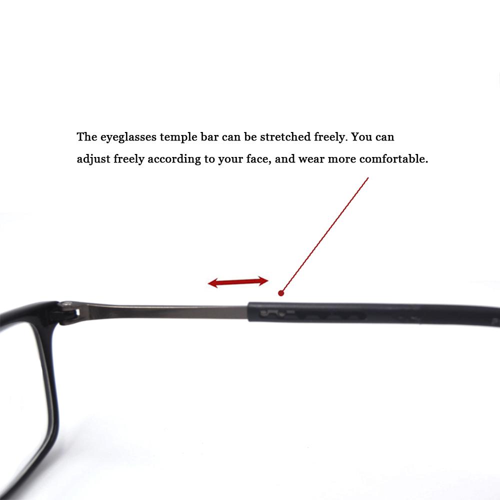 Portable Folding Front Connect Expandable Reader Glasses for Women Men Reading