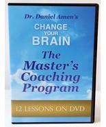 Dr Daniel Amen Change Your Brain Masters Coaching Program 10 DVD Set 12 ... - $24.74