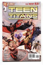 Teen Titans #1 2011-comic book-NEW 52-EARLY Issue NM- - $25.22
