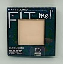 Maybelline New York Fit Me Set + Smooth Powder 110 Porcelain - $9.89