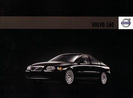 2008 Volvo S60 sales brochure catalog 08 US 2.5T T5 - $8.00
