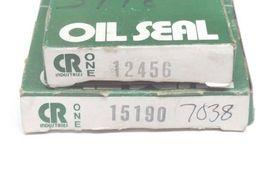 LOT OF 2 NIB CHICAGO RAWHIDE OIL SEALS 15190 & 12456 image 3