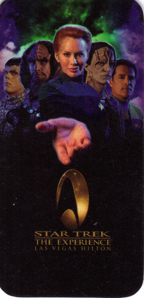 Primary image for STAR TREK The Experience LAS VEGAS HILTON Room Key