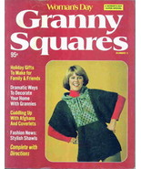 Vintage Woman's Day Granny Squares for Crochet - $7.95