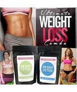 Detox Tea 28Day Ultimate Teatox Burn Fat Belly Restore Your Body Natural... - $24.90