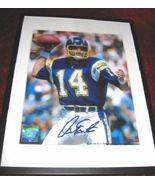 San Diego Chargers Dan Fouts Signed Autograph HOF - $24.99