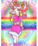 Rainbow Brite Special Characters Tickled Pink Original + Print Fan Art 2... - $19.99