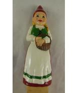 "Sagaform Sweden Gnome Wooden Spoon  4"" girl 6"" spoon 10"" total - $14.84"