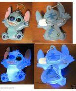 Ultra RARE Disney Lilo and Stitch Japanese Light Up Adorable Stitch Keyc... - $506.99