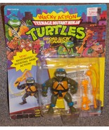 Vintage 1990 TMNT Sword Slicin Leonardo Figure New In The Package - $29.99