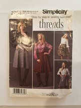 Sewing Pattern Women Clothing Size 6-8-10-12-14 Simplicity #2758 Skirts ... - $6.80