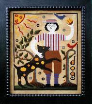 The Boys Series: Jeremiah cross stitch chart Carriage House Samplings - $9.00