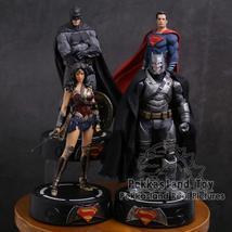 DC COMICS Super Hero Batman / Wonder Woman / Superman Statue with LED Li... - $62.40