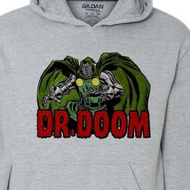 Dr Doom Hoodie retro marvel comics fantastic four silver age comic book 1970s image 2