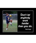 Carli Lloyd Inspirational USWNT Soccer Poster Motivational Quote Birthday Gift - $19.99 - $45.99