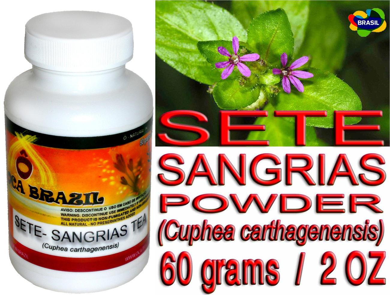 Sete sangrias powder
