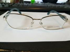 NEW Ralph Lauren RL5088 5001 Women's Eyeglasses Frames 51-15-140 Silver ITALY - $48.51