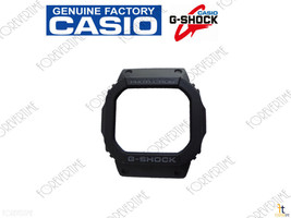 Casio 10287082 Genuine Factory Replacement Black Rubber Watch Bezel  - $23.72