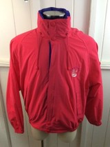 Vintage 1990s Nautica Sailing Windbreaker Jacket PINK L Large NEW WITH TAGS - $128.69