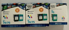 Dataproducts Remanufactured HP Inkjet Cartrides Tricolor and Black - Lot of 5 - $27.72