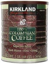 6 Pack Wholesale Lot Kirkland Signature 100% Columbian Coffee 48oz - $138.79