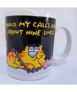 Hallmark Ceramic Coffee Mug Hello? Hello? Hold My Calls For About Nine L... - $24.99