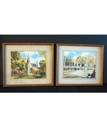 Two Prints by Davis Gray of Northwestern University -Perfect for Alumni ... - $15.00