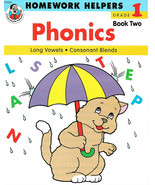 Homework Helpers:  PHONICS, Grade 1 Book 1  (Paperback, 1991) - $3.91