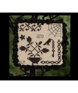 Shadows of Halloween cross stitch chart Cherished Stitches  - $7.20