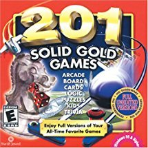 COSMI  201 Solid Gold Games Cd Rom
