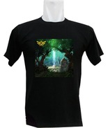Zelda the lost wood custom black t-shirt tee - $19.50 - $29.99